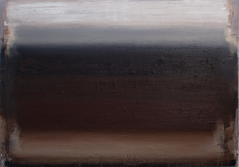 "Ian Humphreys – ""After The Burning"" – Oil On Canvas, 52″ x 76″ - 2013"